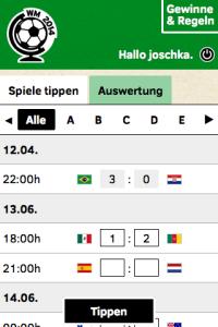 Der Kopfbereich enthält keinen Schriftzug mehr. In der Tabelle entfallen die Ländernamen.