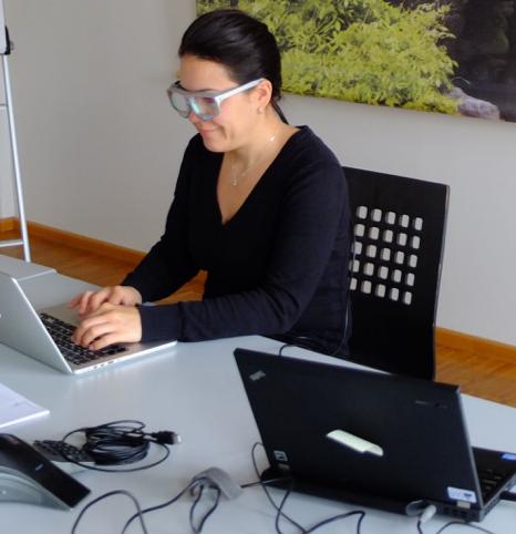 Durchführung Eye-Tracking mit SMI Glasses
